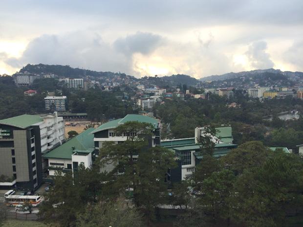 バギオ、SMモールからの眺め