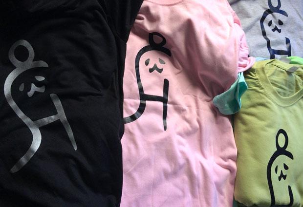 バギオでオリジナルTシャツ制作