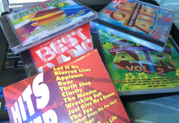 フィリピンでCDアルバムを買う